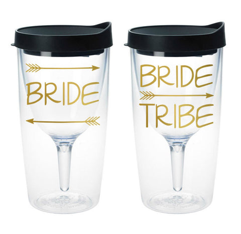 Bride Tribe Wine Tumbler