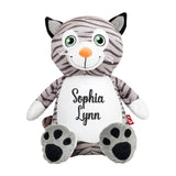 Embroidered Custom Cat Stuffed Animal