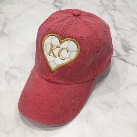 Red Kansas City Hat