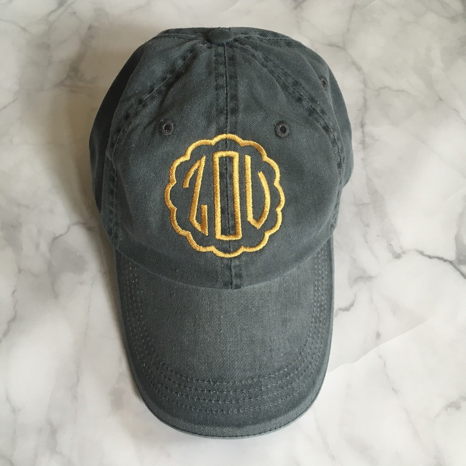 """""""Zou"""" Embroidered Hat"""