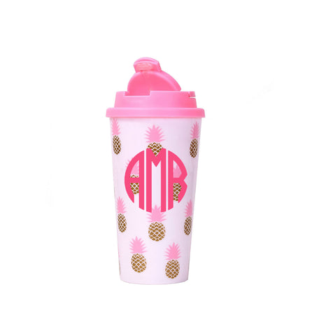 Monogram Pineapple Tumbler