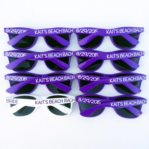 Beach Bash - Personalized Sunglasses