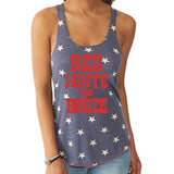 Red White and Booze Tank Top