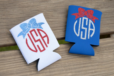 USA Bow Coozies