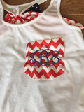 Monogram 4th of July Tank