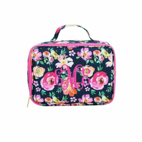 Girls Floral Lunch Box