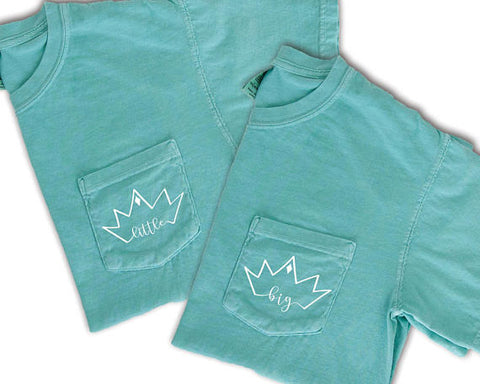 Big Little Crown Sorority Family Shirt