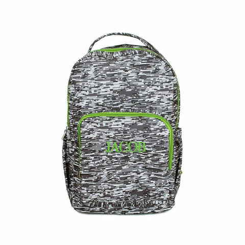 Grey Stripe Boys Backpack