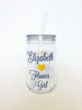 Bridal Party Tumblers -- Pick Your Colors!