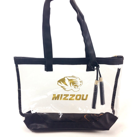 Clear Game Day Tote Bag