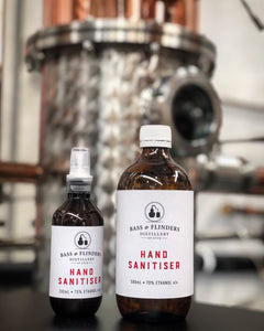 Hand Sanitiser Spray + Refill Pack - Bass & Flinders Distillery