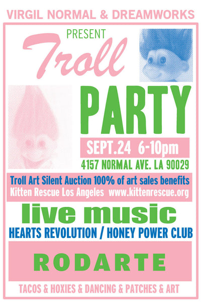 Virgil Normal + Dreamworks Present Troll Party