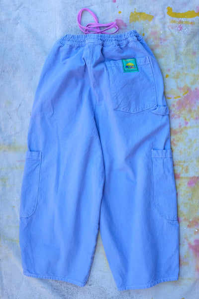 chef pants by meals clothing baggy relaxed pants for sartorial everyday two big pockets one back pocket a tong holder and elastic waist band with drawstring fits anyone Virgil Normal clothing and curiosities Los Angeles