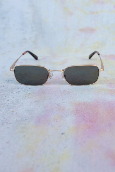 The Nu Bloom - Brushed Gold Tortoise Polarized crap eyewear sunglasses Virgil Normal Los Angeles