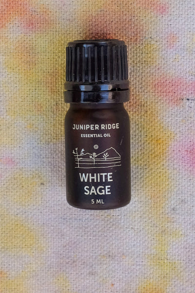 white sage essential oil from juniper ridge aroma therapy Virgil Normal clothing and home goods Los Angeles