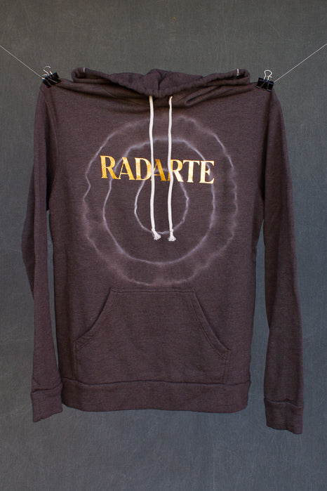 Radarte Tie Dye Hoodie - Charcoal - Clothing and Home Goods in Los Angeles - Virgil Normal