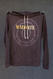 Radarte Tie Dye Hoodie - Charcoal - Rodarte - hoodie,Clothing and Home Goods in Los Angeles - Virgil Normal
