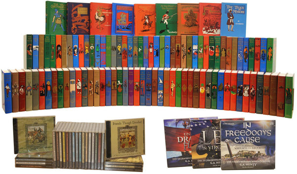 g a henty deluxe collection robinson books