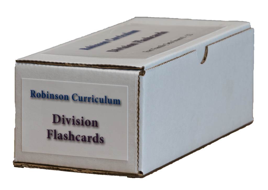 Robinson Curriculum Division Flashcards