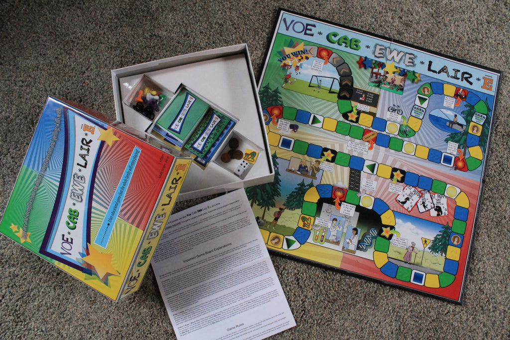 VoeCabEweLairE - Educational Board Game