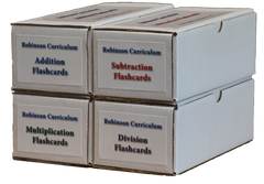 Robinson Curriculum Math Flashcards