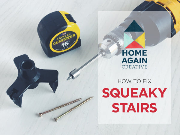 How to Fix your Squeaky Stairs