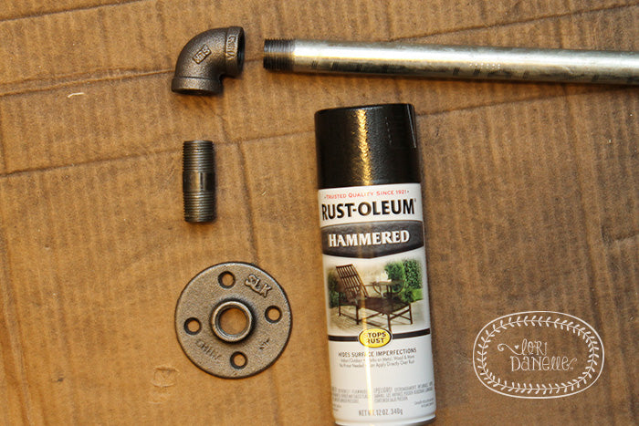 DIY Industrial Curtain Rods – Home Again Creative