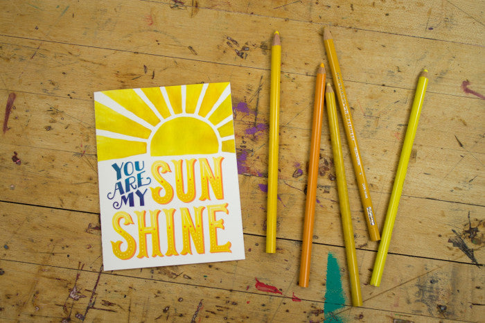 You are my Sunshine  |  Lori Danelle