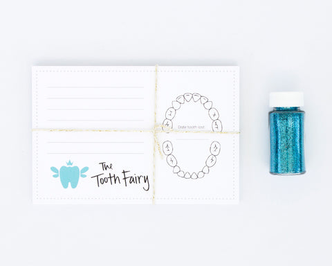Tooth Fairy Sibling Refill Kit | Blue or Pink