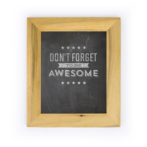 Be Awesome Art Print