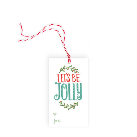 Let's be Jolly - Gift Tag - Pack of 10