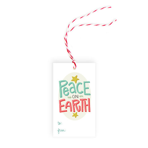Peace on Earth - Gift Tag - Pack of 10