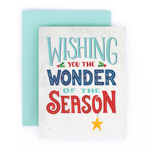 Wishing You the Wonder of the Season
