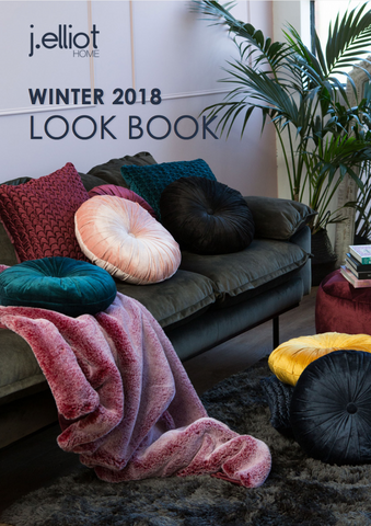 J.Elliot Home Winter 18 Catalogue Cover Image