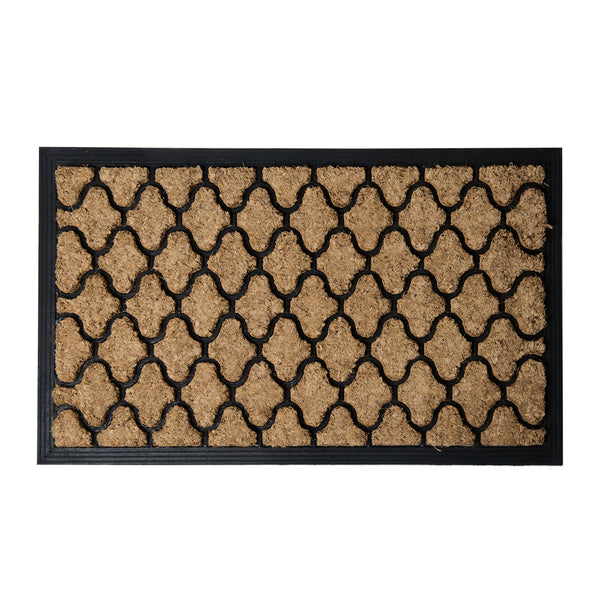 Brush Moulded Coir Mat 45x75cm Diamond ETA: Late September