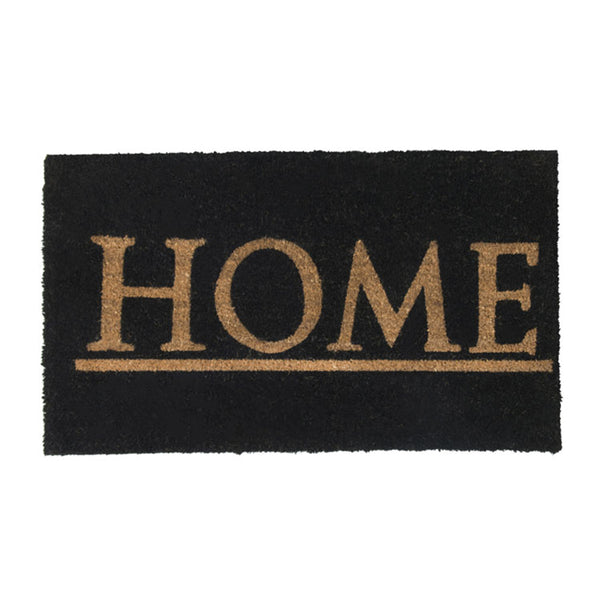PVC Backed Coir Printed Mat 45x75cm Home ETA: Late September