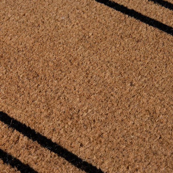 PVC Backed Coir Printed Mat Ranchslider 40x120cm Rectangular Lines ETA: Late September