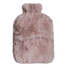 Load image into Gallery viewer, Amara Hot Water Bottle and Cover 37x22cm Blush; ETA March