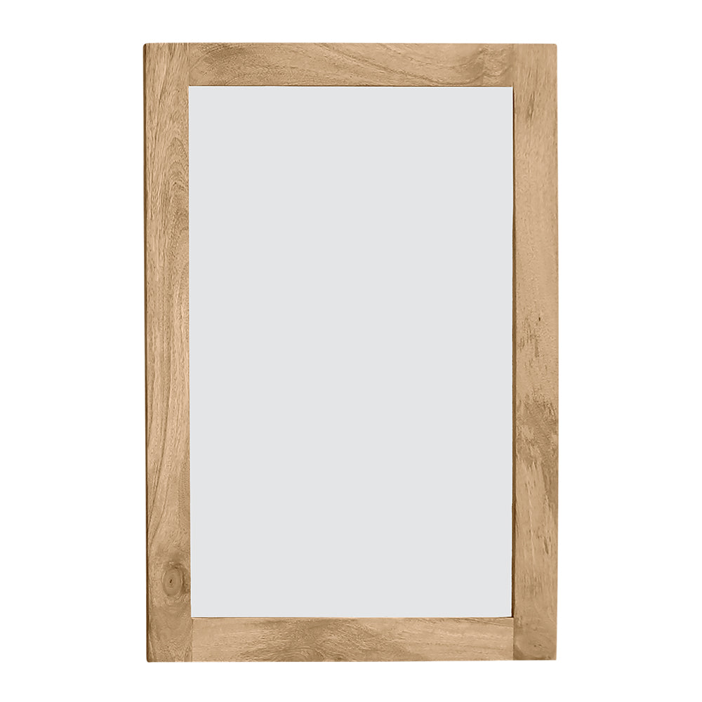 Newhalen Wooden Frame Mirror 90x2.5x60cm Natural