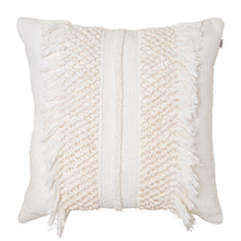 Load image into Gallery viewer, Trinity Cushion 50x50cm Ivory ETA: Mid September