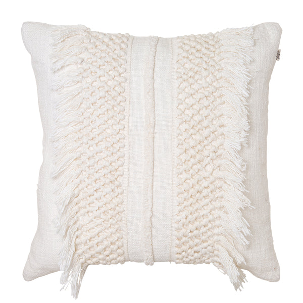 Trinity Cushion 50x50cm Ivory; ETA Late November