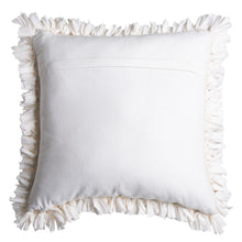 Load image into Gallery viewer, Elodie Cushion 50x50cm Ivory