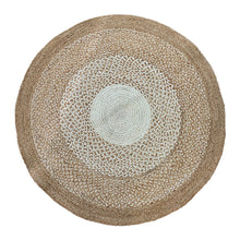 Load image into Gallery viewer, Burleigh Jute Rug 120cm Natural/Ivory ETA: Mid October