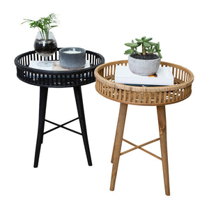 Thea Side Table 40x40x50cm Black