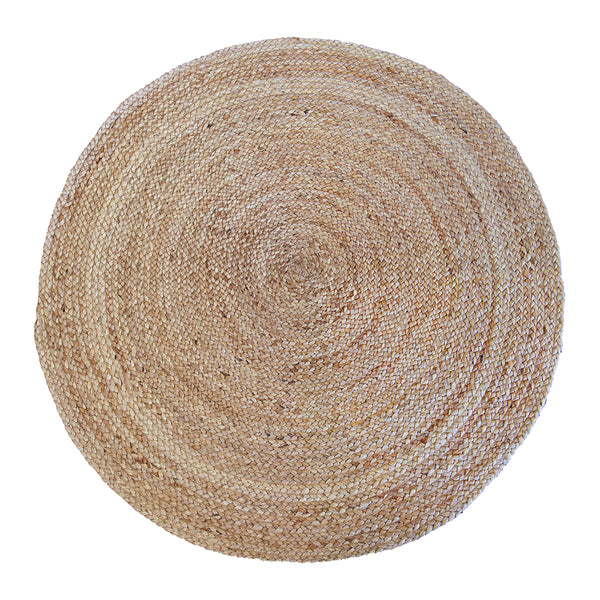 Dune Rug 120cm Round Natural; ETA Mid November