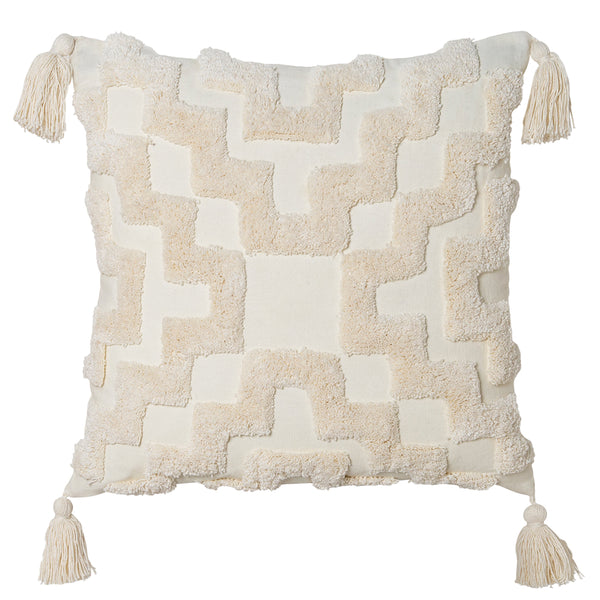 Fletcher Cushion 50x50cm Ivory; ETA Mid November