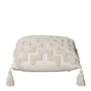 Fletcher Cushion 50x50cm Ivory