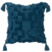 Load image into Gallery viewer, Fletcher Cushion 50x50cm Teal ETA: Mid October