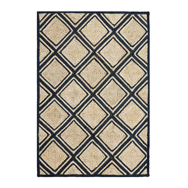 Murphy Rug 120x180cm Natural/Black