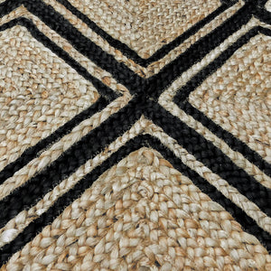Murphy Rug 160x230cm Natural/Black